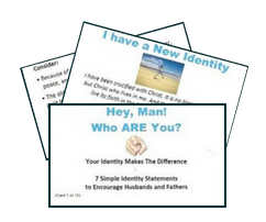 Encouraging Minutes, Card Sets for Men (pkg of 5)