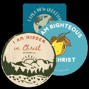 identity stickers